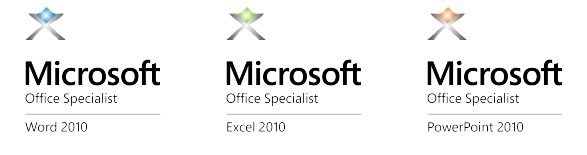 Microsoft Office Specialist -certificates